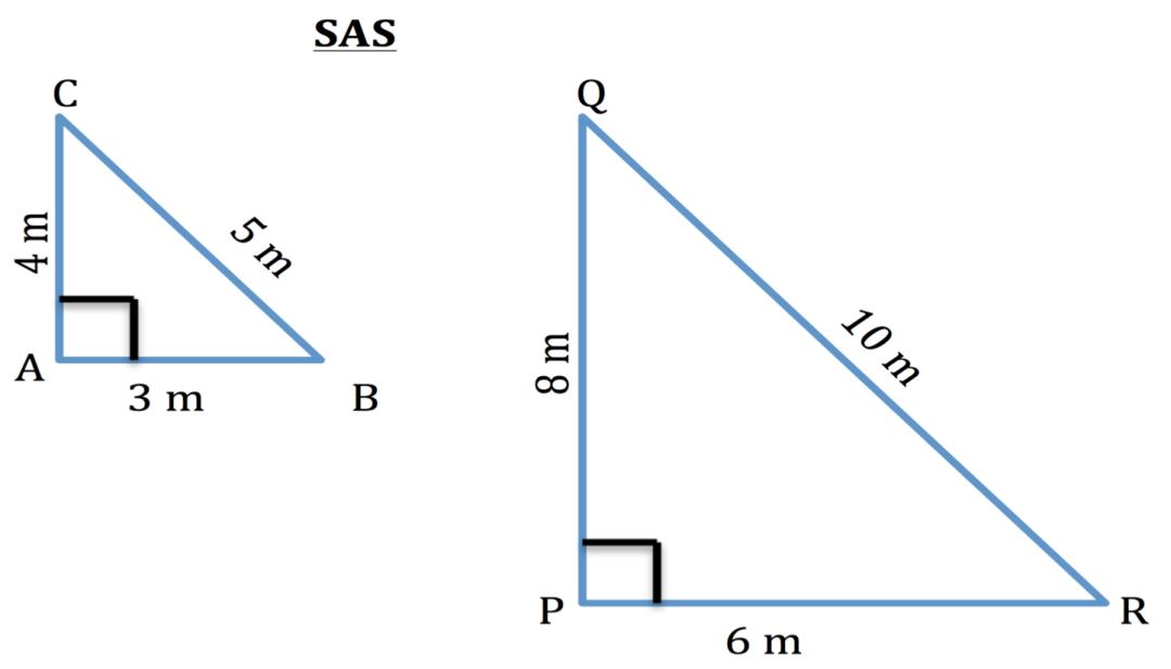 SAS Similar triangle