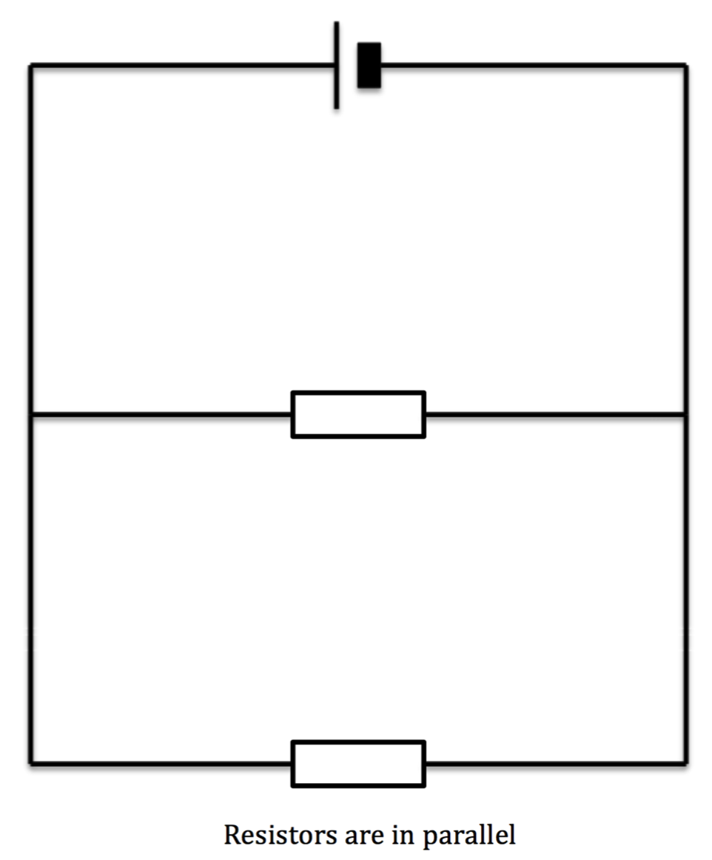 resistors are in parallel